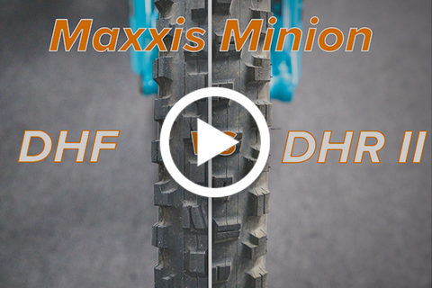 Maxxis Minion DHF vs Minion DHR II (Which Tire Is Best?) [Video]