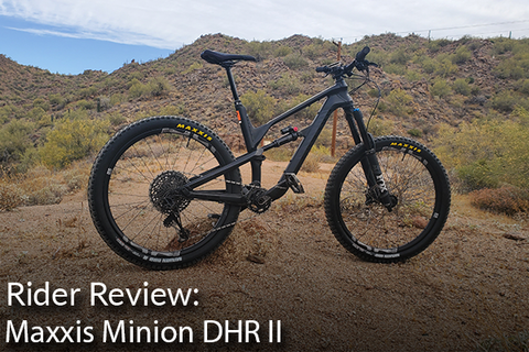 Maxxis Minion DHR II: Rider Review