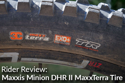 Maxxis Minion DHR II 29 x 2.40 3C MaxxTerra Compound Tubeless Tire: Rider Review