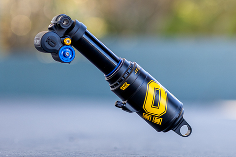 Ohlins TTX Air Shock: Employee Review
