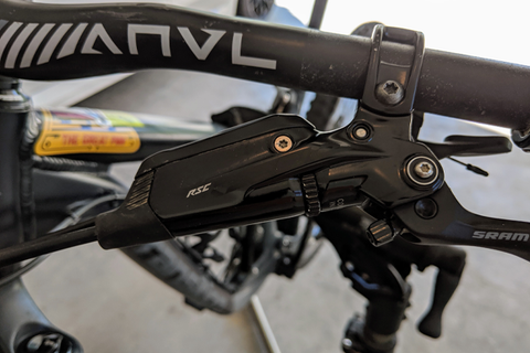 SRAM Code RSC Hydraulic Brake Lever Assembly: Rider Review