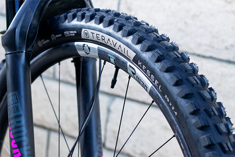 Teravail Kessel Tire - New Aggressive Tread for All Mountain Riding