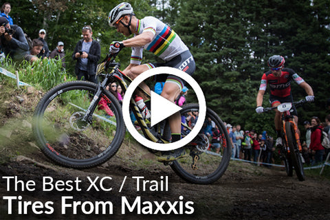The Best XC / Trail Tires by Maxxis - Light & Fast (Proven to Make You Faster) [Video]