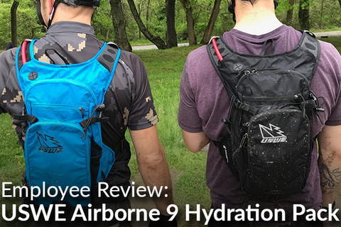 USWE Airborne 9 Hydration Pack: Employee Review (Is This The Best Pack On Earth?)