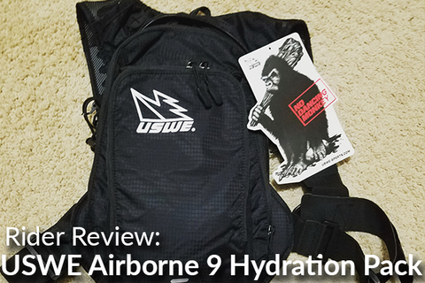 USWE Airborne 9 Hydration Pack w/3L Bladder: Rider Review