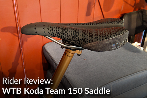 WTB Koda Team 150 Saddle: Rider Review