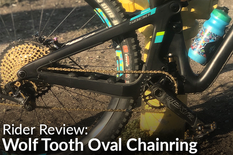 Wolf Tooth Drop-Stop Oval 30T Chainring: Rider Review