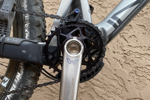 absoluteBLACK Oval Narrow-Wide Direct Mount Chainring: Rider Review