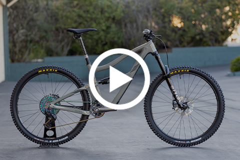 BKXC Ibis Ripmo V2 Bike Check - The Coolest Ripmo You'll See All Day [Video]