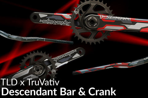 TruVativ x Troy Lee Designs Collab Handlebar and Crank