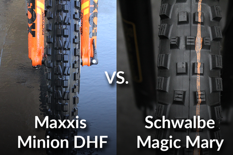 [Video] Maxxis Minion DHF vs. Schwalbe Magic Mary - Which is Best?