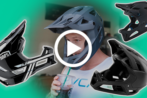 Enduro Full Face MTB Helmets (Our Favorite Picks) [Video]