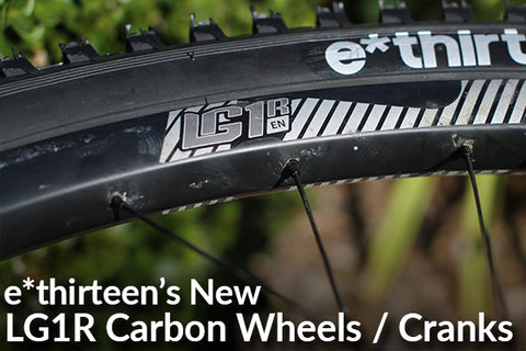 LG1R Enduro Carbon Wheelset / Cranks Release and Review