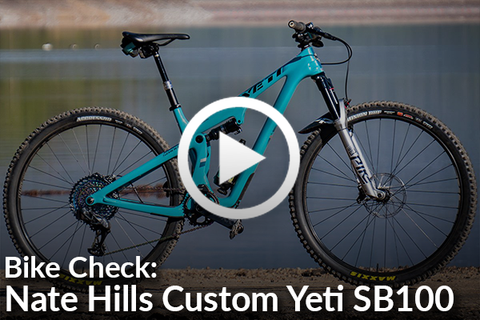 Building a New Yeti SB100 with Nate Hills (Complete Bike Check) [Video]