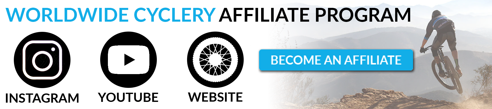 Worldwide Cyclery Affiliate Program