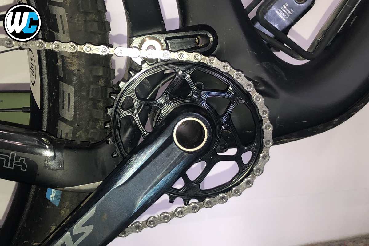 AbsoluteBlack Oval chainring rider review