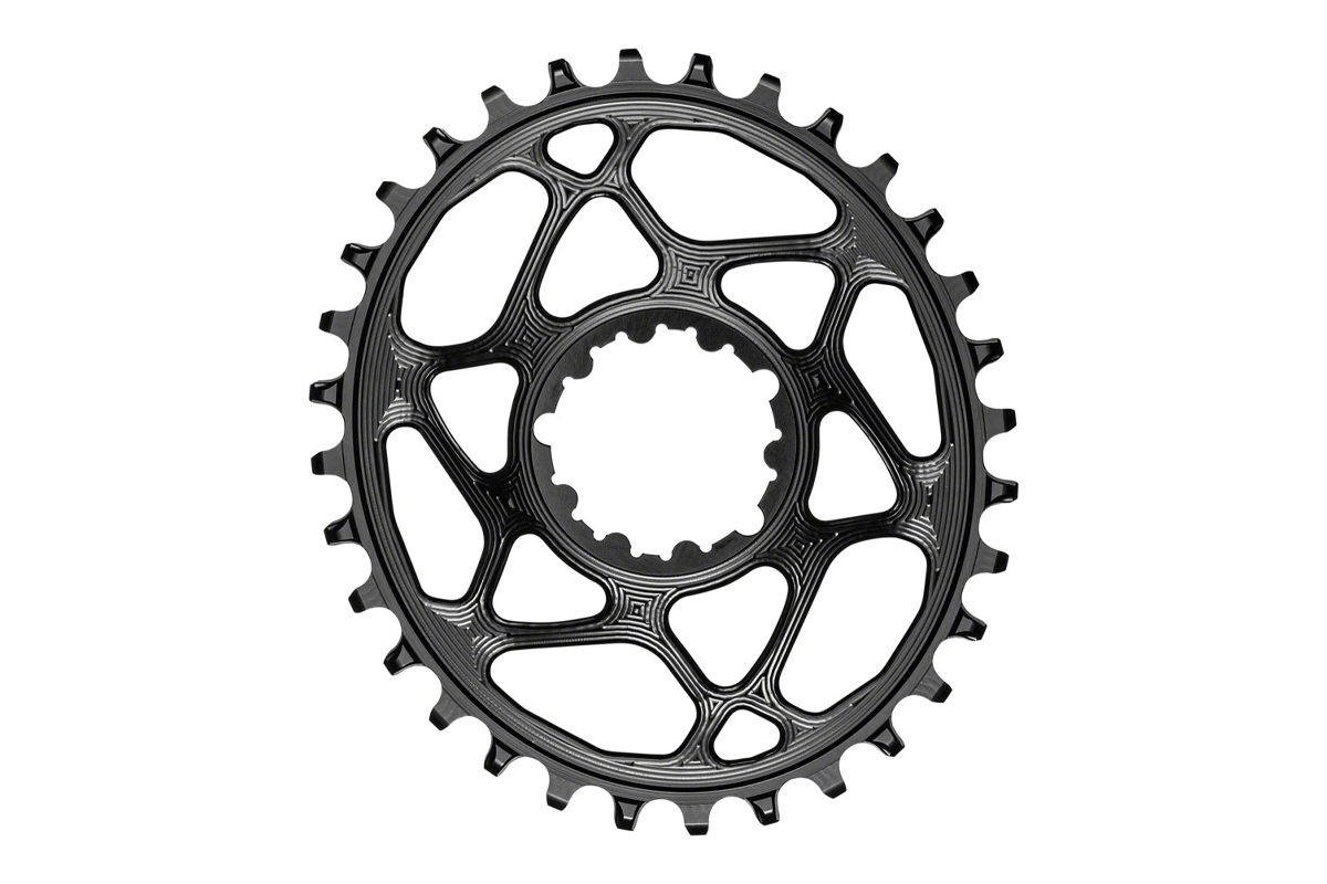 AbsoluteBlack oval chainring