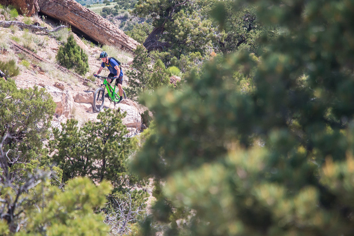 Andy Anderson Chasing Epic MTB Fruita