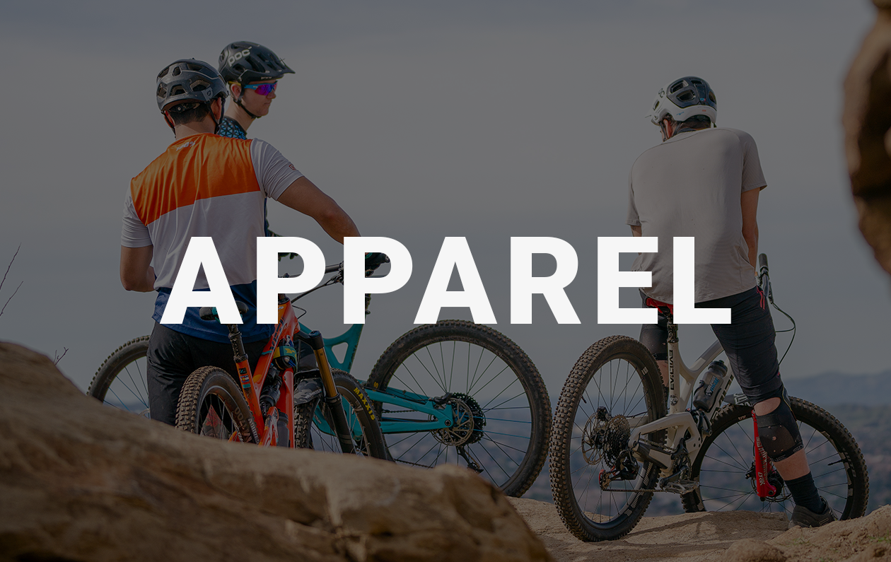 Shop Mountain Bike Gear. Jerseys, Jackets, Helmets, Gloves, Pads, Flat Pedal / Clipless Pedal Shoes & Much More...