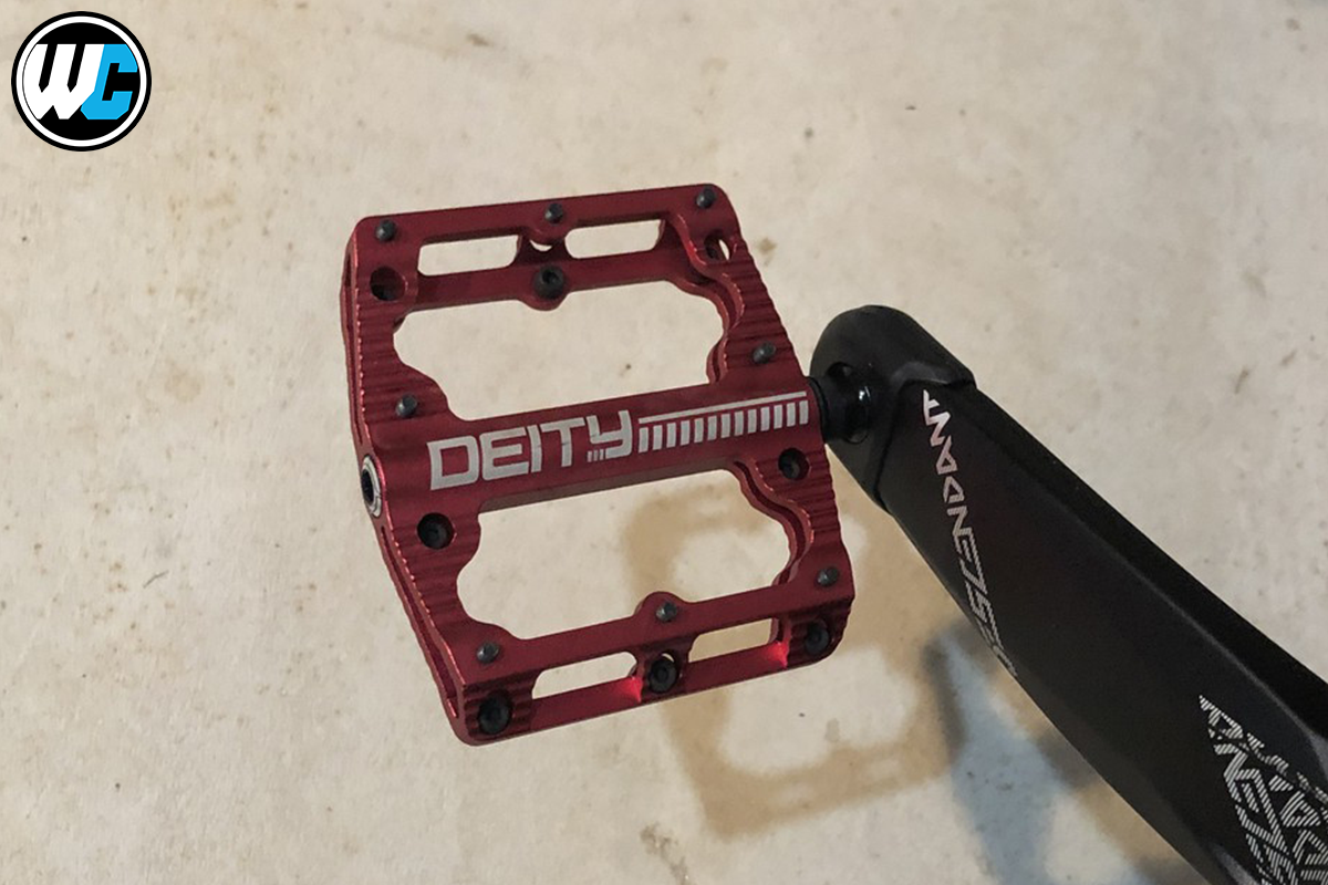 Deity Black Kat Pedal Review at Worldwide cyclery