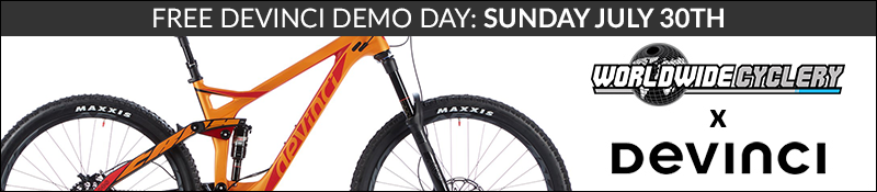 Devinci Demo Day - Worldwide Cyclery