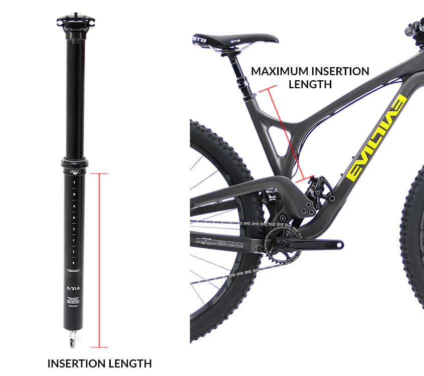 Video] How To Choose The Correct Size Dropper Seatpost (Step by Step