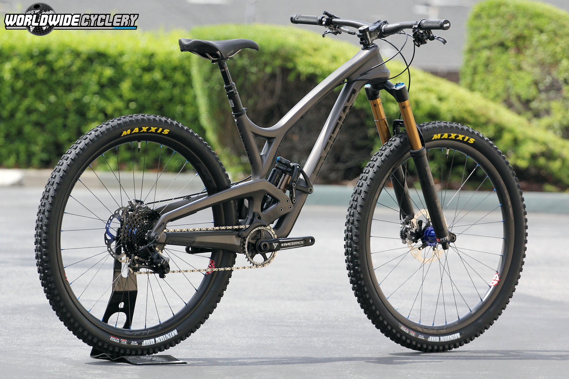 Evil The Wreckoning Custom Build - Worldwide Cyclery