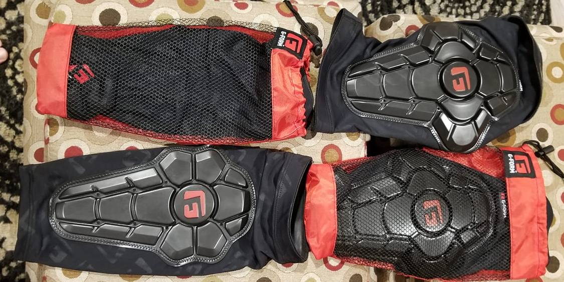 G-Form Pro-X2 Elbow Pads and G-Form Pro-X Knee Pad Rider Review