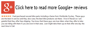 Google Plus Reviews for Worldwide Cyclery