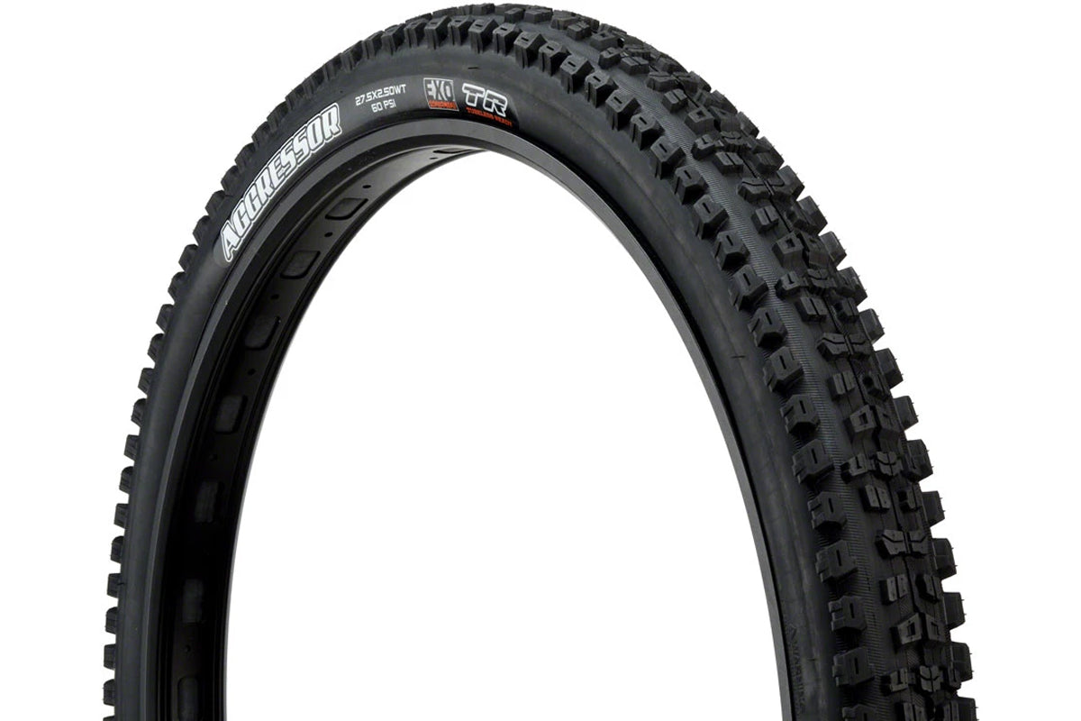 Maxxis Aggressor 27.5 x 2.5 WT EXO TR Tire Rider Review