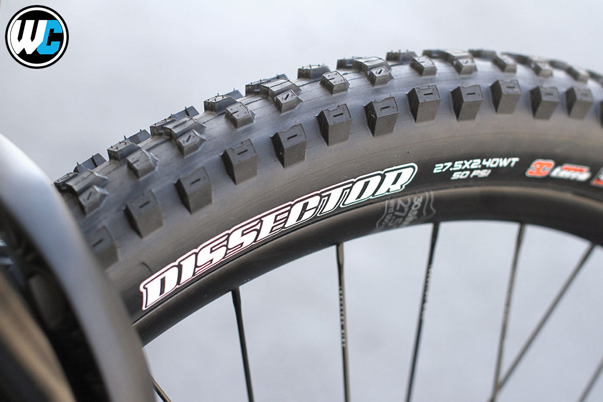 Maxxis Dissector First Ride and Overview