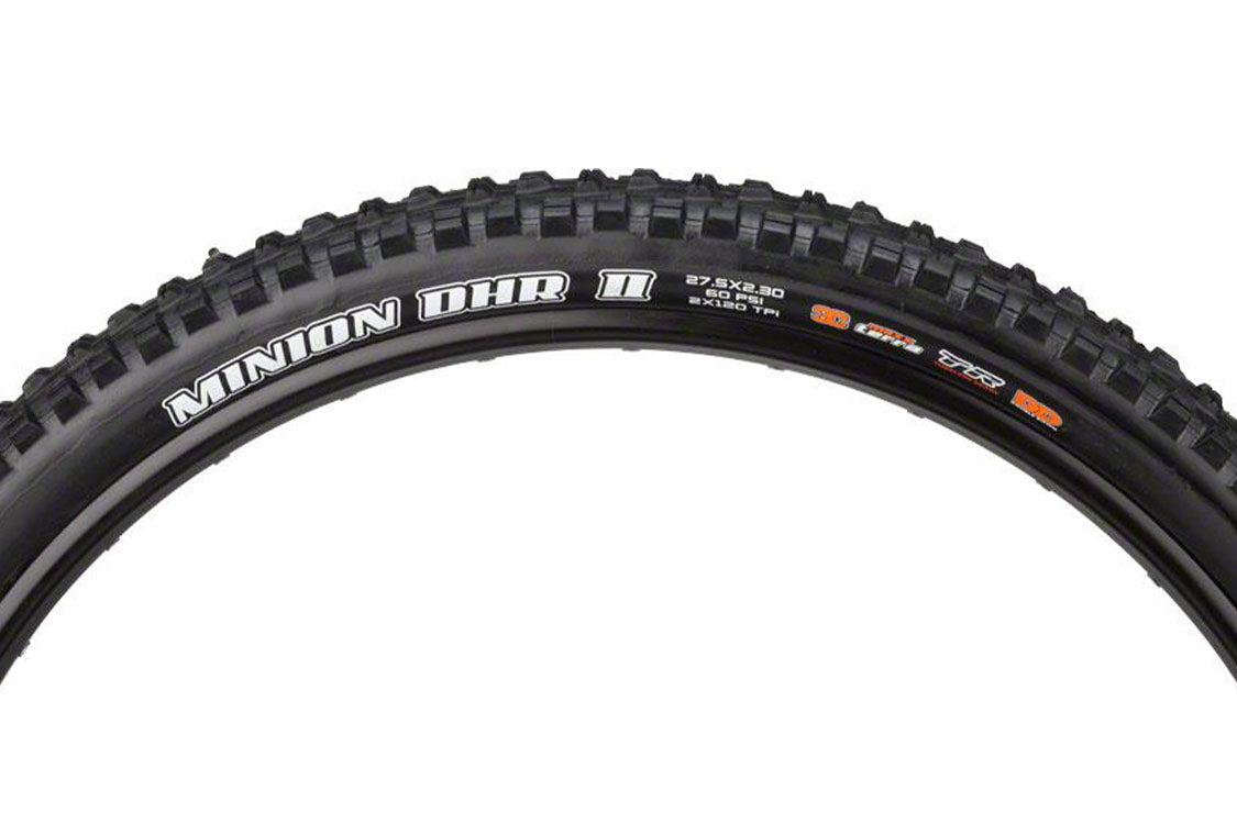 Maxxis Minion DHR II Tire Rider Review