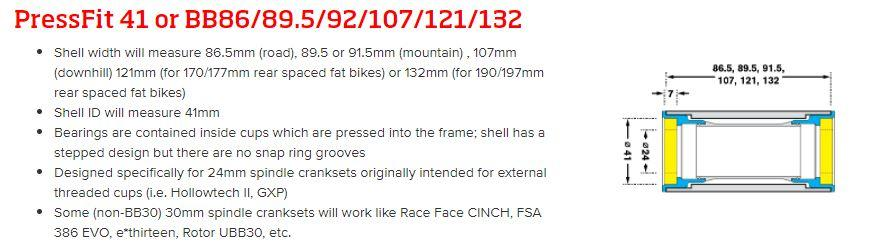 BB92 Bottom Bracket - What Size Bottom Bracket Do I Need