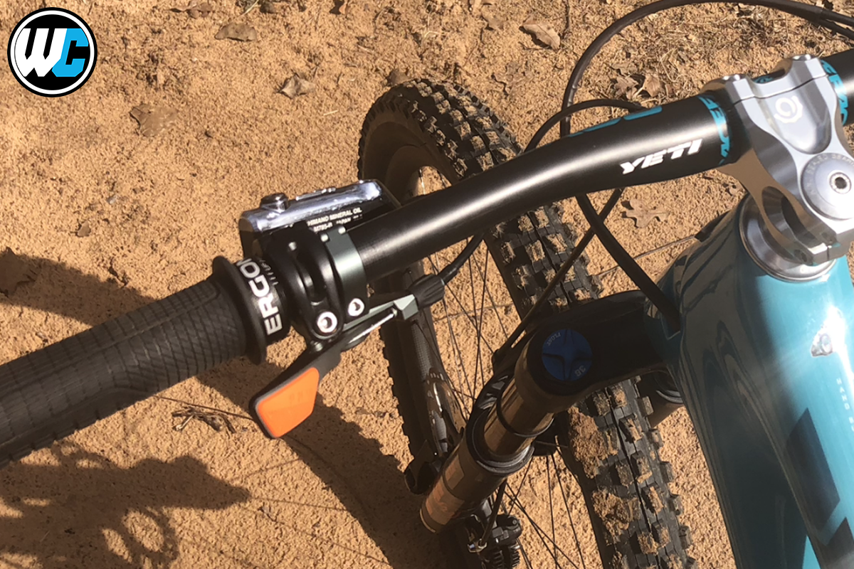 PNW Loam Lever rider review