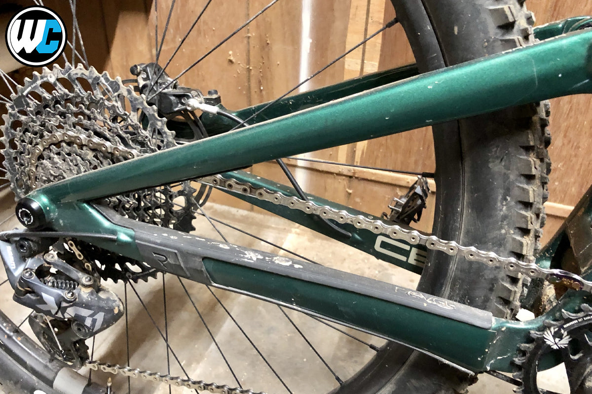 RideWrap Covered Dual Suspension MTB Frame Protection Kit Rider Review