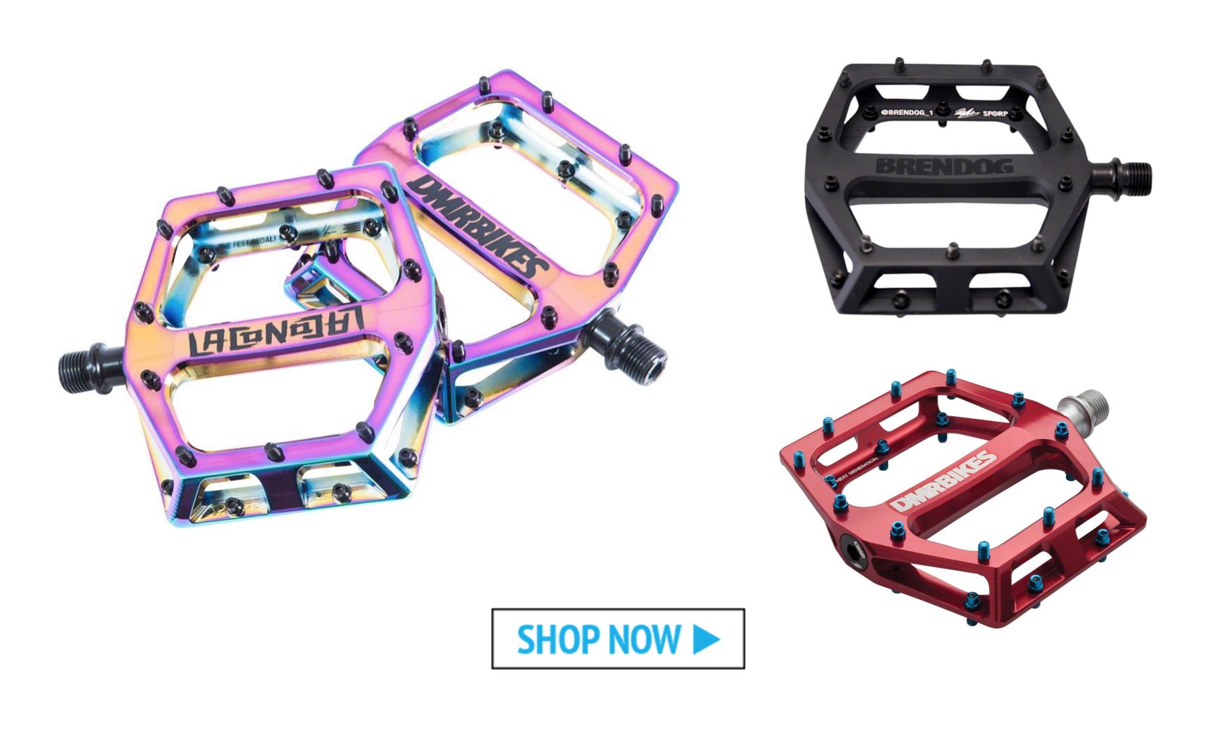 Our Five Favorite Flat Pedals: DMR Vault Pedals - Worldwide Cyclery