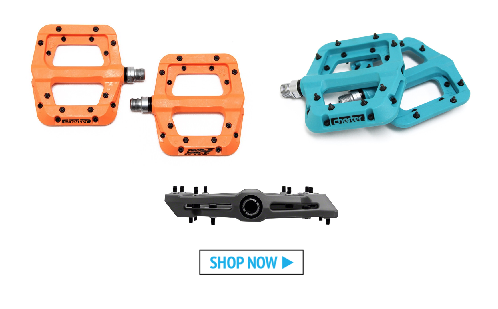 Our Five Favorite Flat Pedals: Race Face Chester Pedals - Worldwide Cyclery
