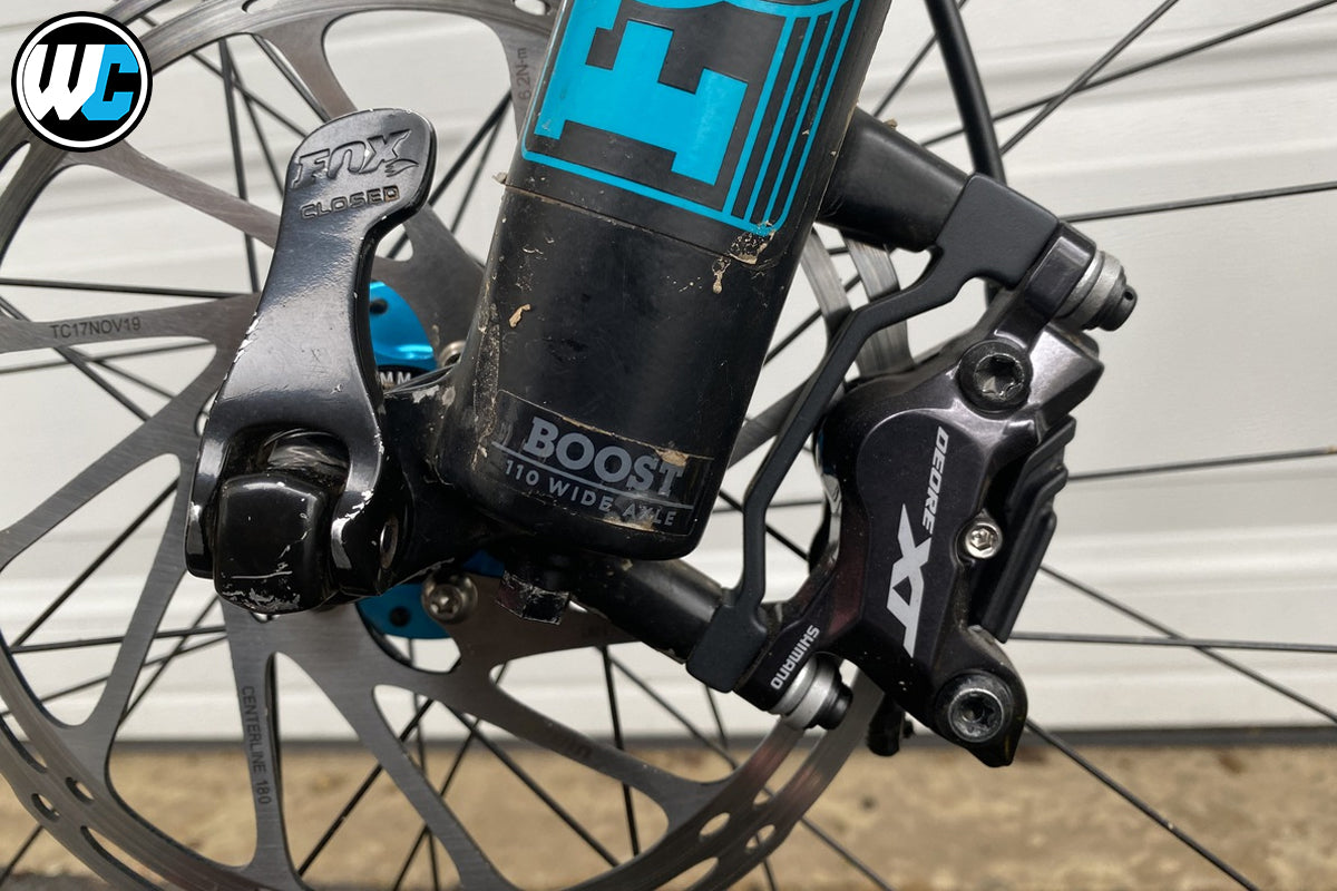 Shimano M8100 and M8120 Disc Brakes Rider Review