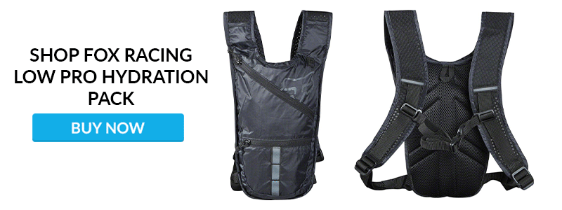 Shop Fox Racing Low Pro Hydration Packs
