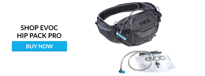 Shop EVOC Hip Pack Pro at Worldwide Cyclery