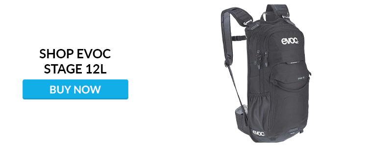 Shop EVOC Stage 12l Hydration Pack at Worldwide Cyclery