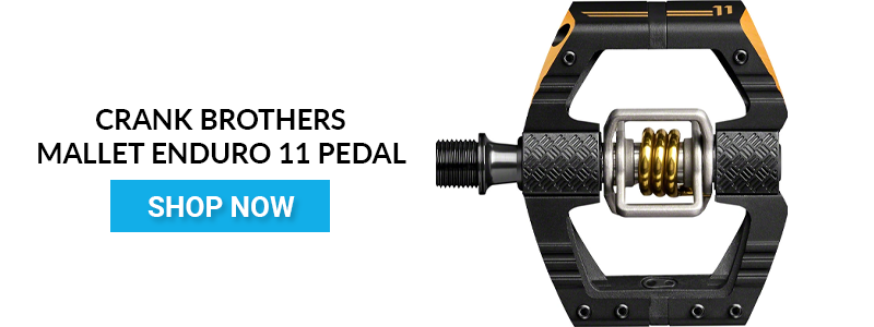 Shop Crank Brothers Mallet Enduro 11 Pedals Rider Review CTA