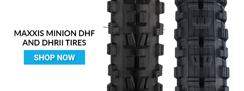 Shop Maxxis Minion DHF and DHRII tires