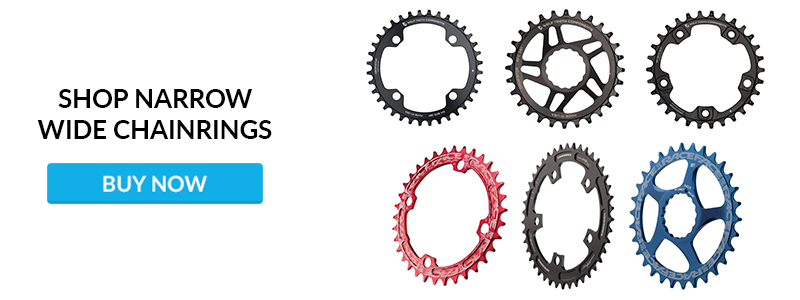 Shop Narrow Wide Chainrings CTA
