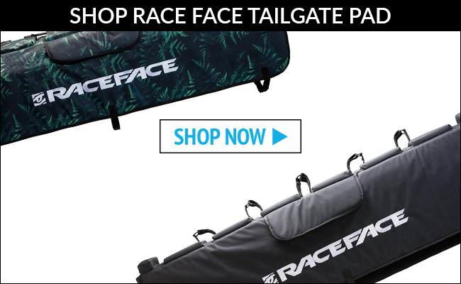 """RaceFace Tailgate Pad 57/"""" Black SM//MD"""
