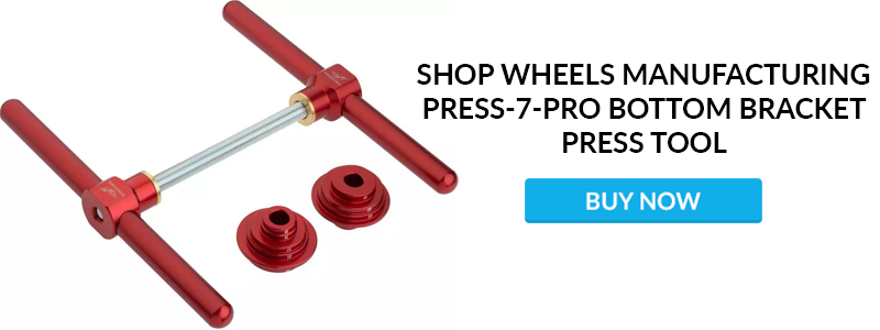 Wheels Manufacturing Press-7-Pro Bottom Bracket Bearing Press /& Drifts