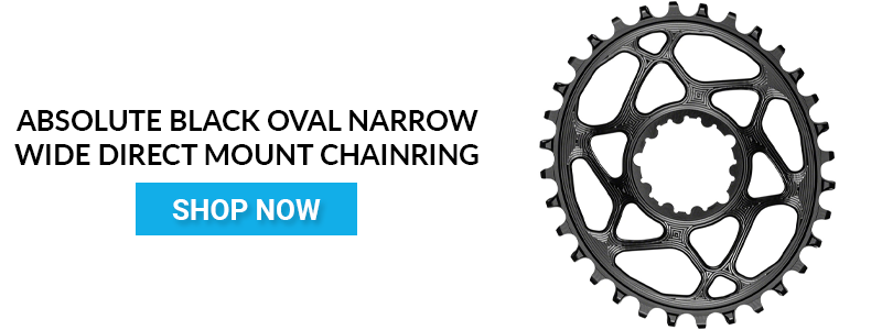 Shop absoluteBLACK Oval Narrow-Wide Direct Mount Chainring