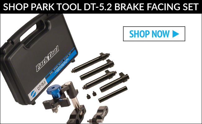Shop Park Tool DT-5.2 Disc Brake Mount Facing Set