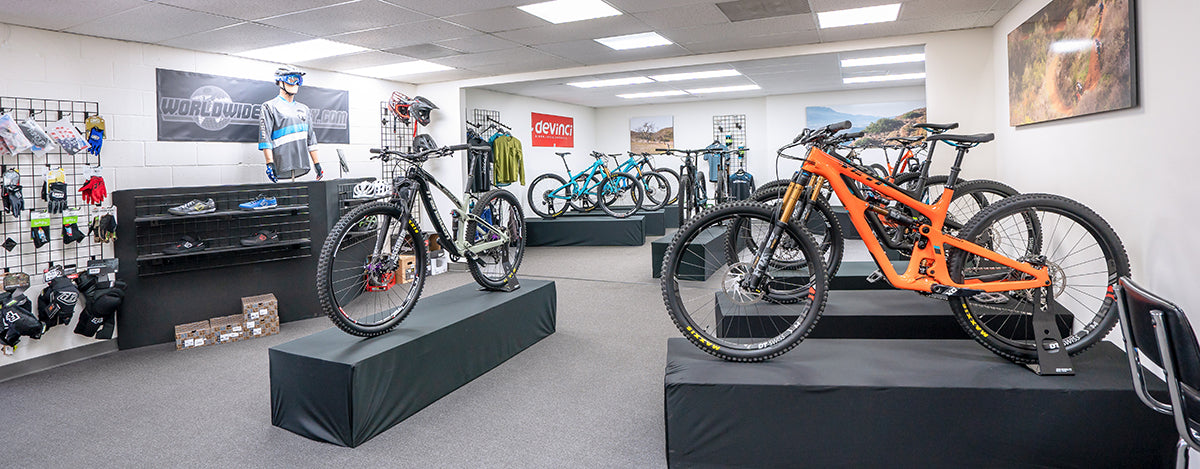 Worldwide Cyclery Showroom