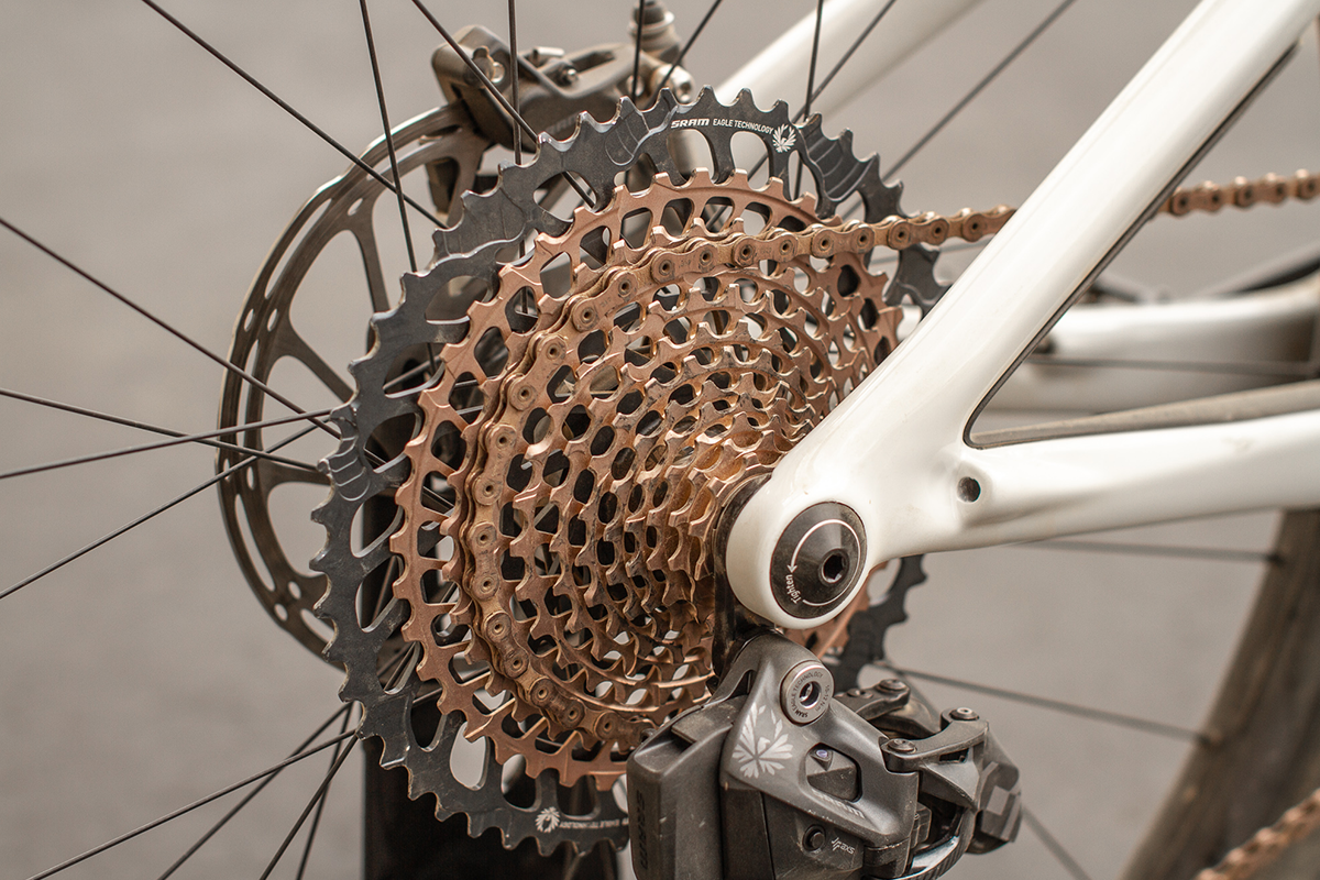 SRAM Eagle AXS Copper Cassette